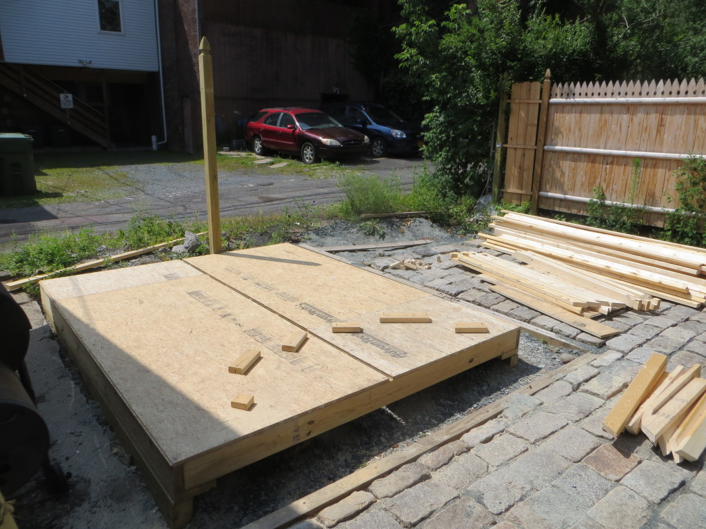 Shed Rafter Work (3)